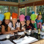 Mini Chef Hats with Matching Aprons