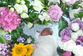 Jasmyn in the flower garden
