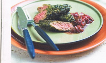 Native Mint and Mustard Lamb Fillets