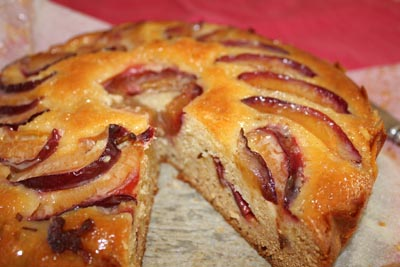 Long Track Pantry's Honey Plum Cake