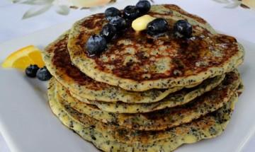 Orange Poppy Seed Pancakes
