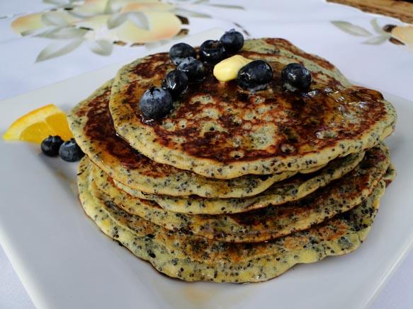 Orange Poppy Seed Pancakes | Cooking with Sheridan