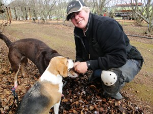 Fran Lee, Truffle hunting at The Wine and Truffle Co