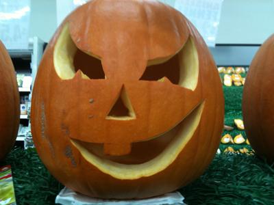Haloween pumpkin October 2011