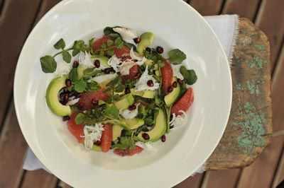 Avocado, Pomegranate and Citrus Salad | Cooking with Sheridan