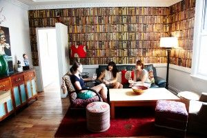The Duck Inn lounge library