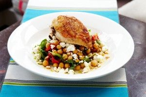 The Duck Inn sauteed chicken breast
