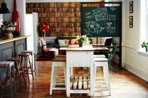 The Duck Inn table blackboard