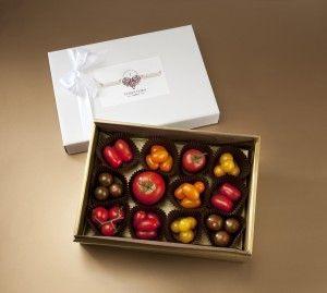Choc Box of Valentine Tomatoes