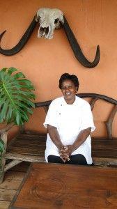 Consolata Wangechi, chef at Loisaba Lodge