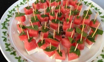 Watermelon Fetta Mint sticks