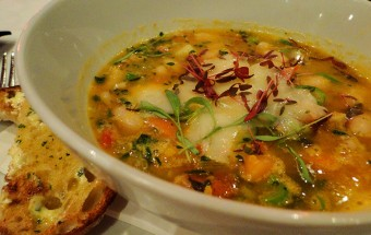 Hearty Bean and Vegetable Soup, Red Peppa Restaurant, Ballarat, Victoria