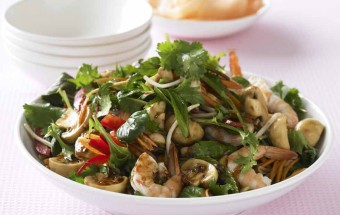 Asian-Style Prawn Salad