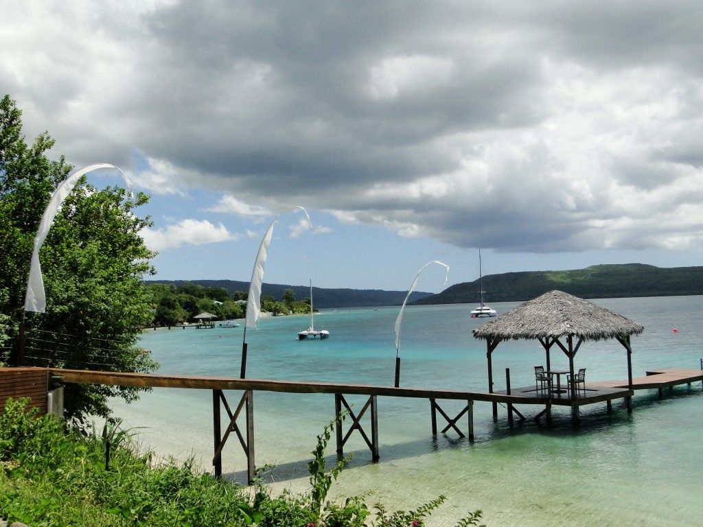 View of Havannah Harbour, north coast of Efate, Vanuatu