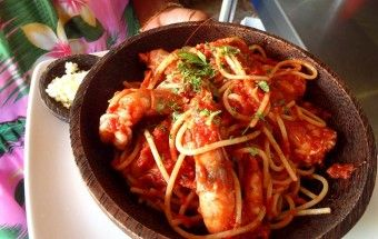 Francesca Grillo's Spaghetti with Prawns