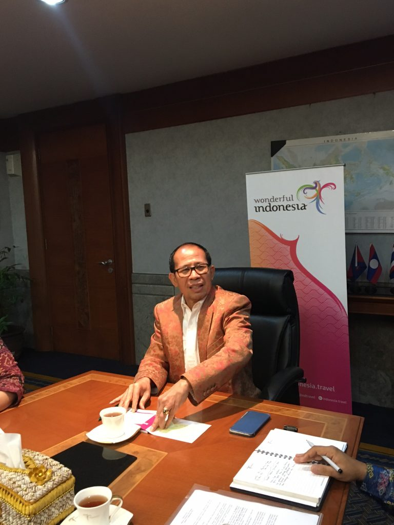 Igde Pitana, Deputy Minister for International Marketing, Indonesian Ministry of Tourism