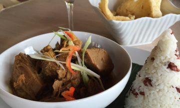 Jackfruit Curry, Indus Restaurant, Ubud, Bali