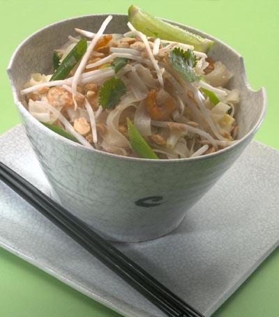 Prawn Pad Thai Cooking With Sheridan