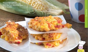 CORN FRITTERS 2