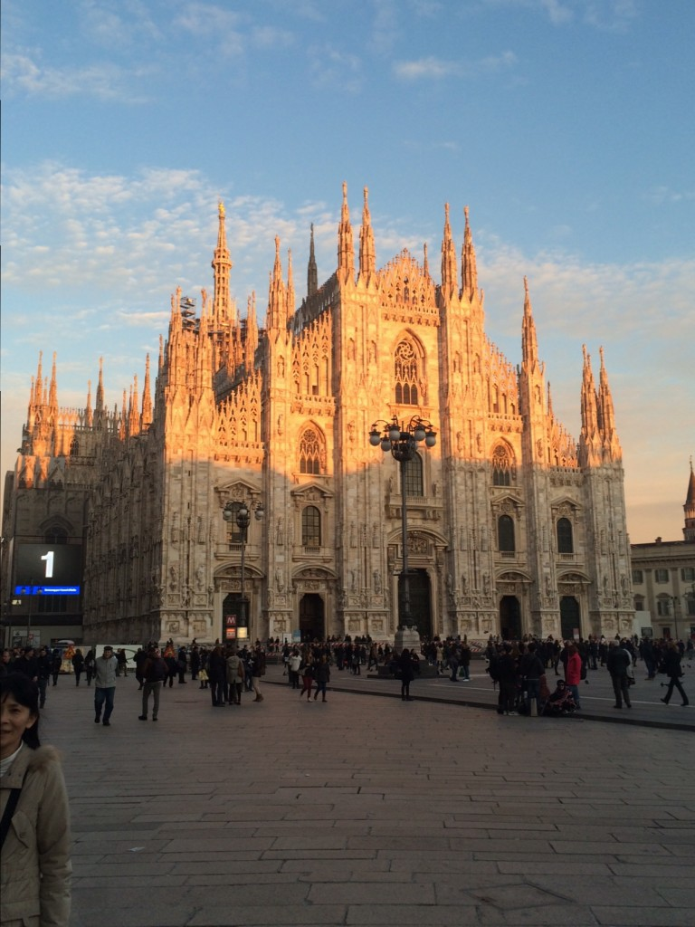 Il Duomo, Milano - early evening light, late winter