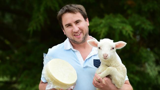 Artisan cheesemaker Ivan LArcher