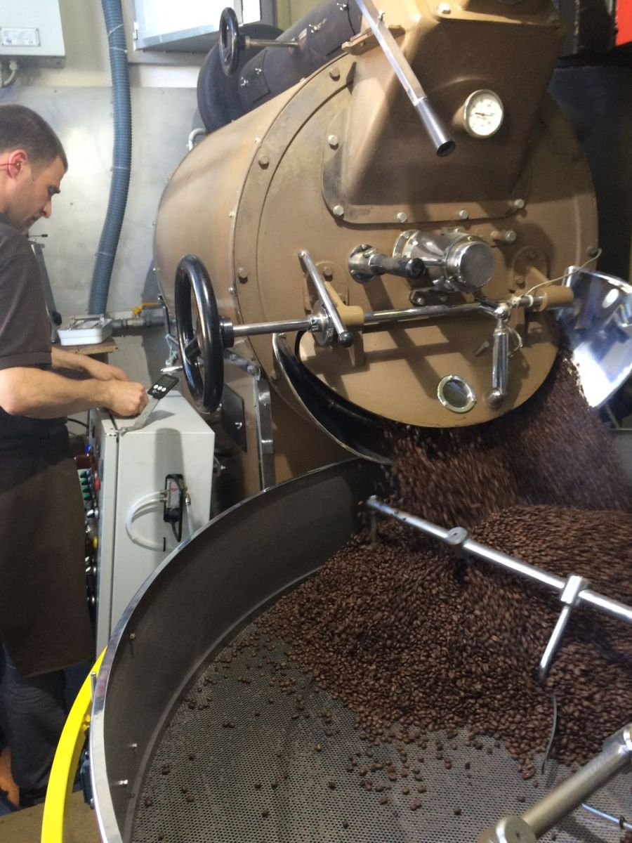 The Beans Are Roasted Slowly (200degc For 18 Minutes) To Remove Acidity