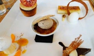 Dessert platter, Charcoal Lane