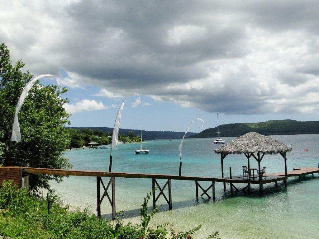 View of Havannah Harbour, north coast of Efate, Vanuatu