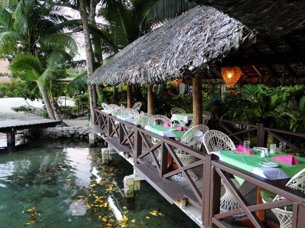 Vila Chaumiere, set on the second lagoon, Port Vila
