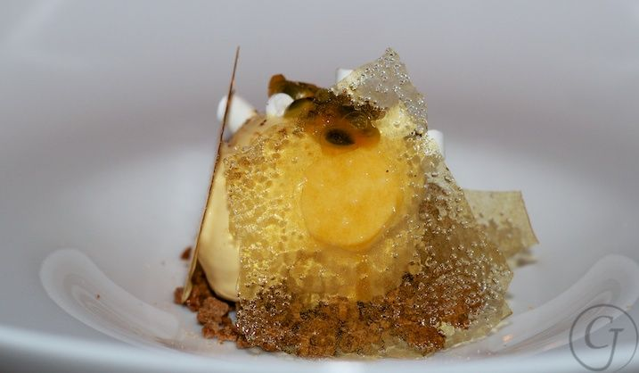Ross Lusted's Aerated Passionfruit, The Bridge Room
