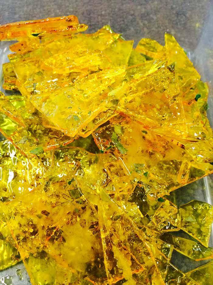 Jess' Lemon myrtle toffee