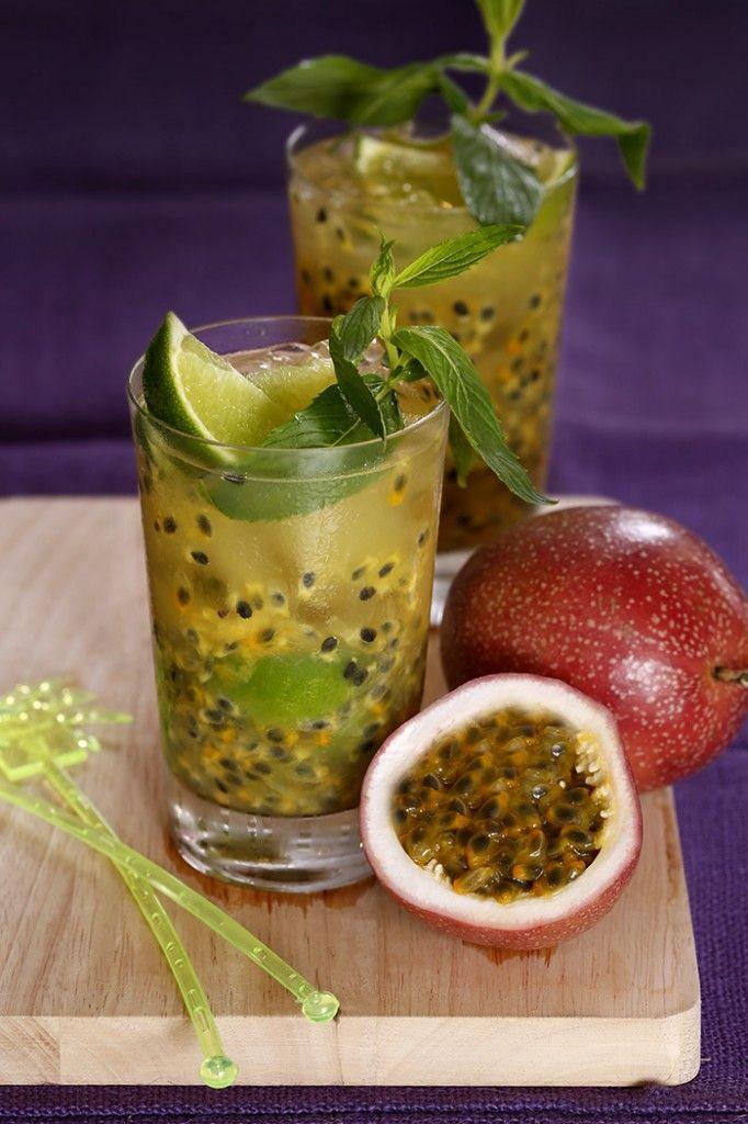 Passionfruit Caipirinha
